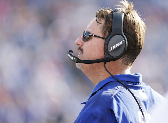 Ben McAdoo, New York Giants (August 20, 2016)