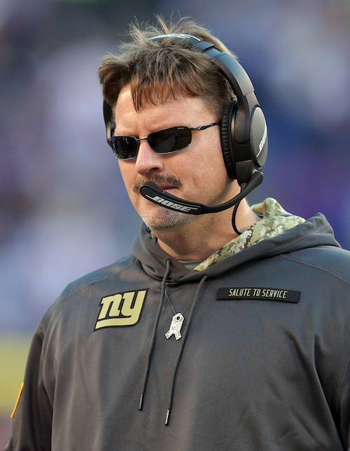 Ben McAdoo, New York Giants (November 6, 2016)