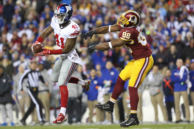 Dominique Rodgers-Cromartie, New York Giants (January 1, 2017)