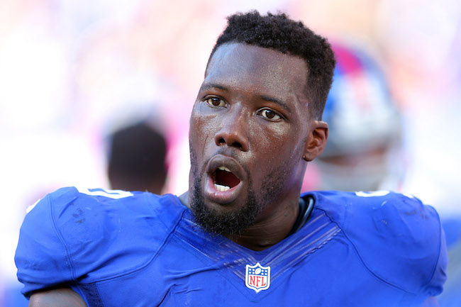 Jason Pierre-Paul, New York Giants (October 16, 2016)