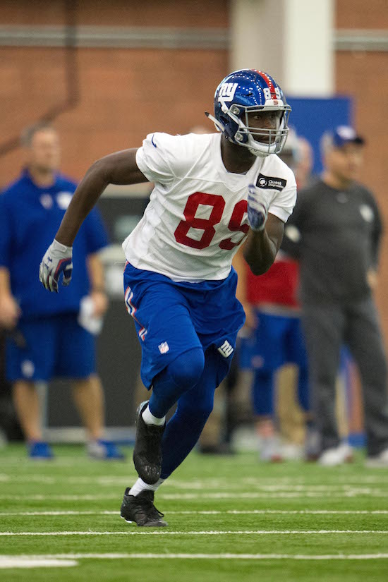 Jerell Adams, New York Giants (May 6, 2016)