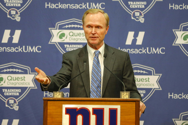 John Mara, New York Giants (January 5, 2016)