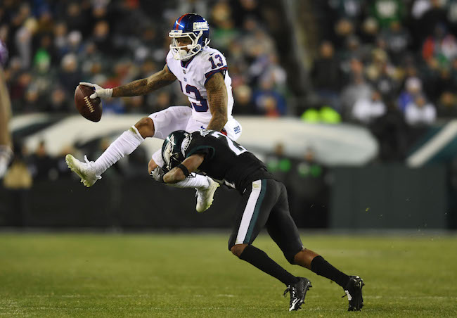 Odell Beckham, Jr., New York Giants (December 22, 2016)