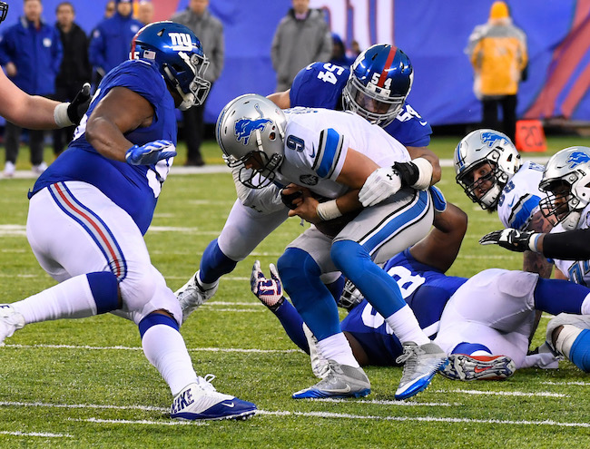 Olivier Vernon, New York Giants (December 18, 2016)