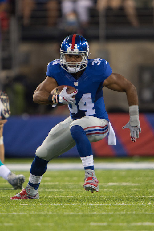 Shane Vereen, New York Giants (August 12 2016)