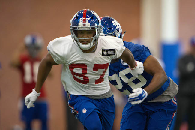 Sterling Shepard, New York Giants (May 6, 2016)