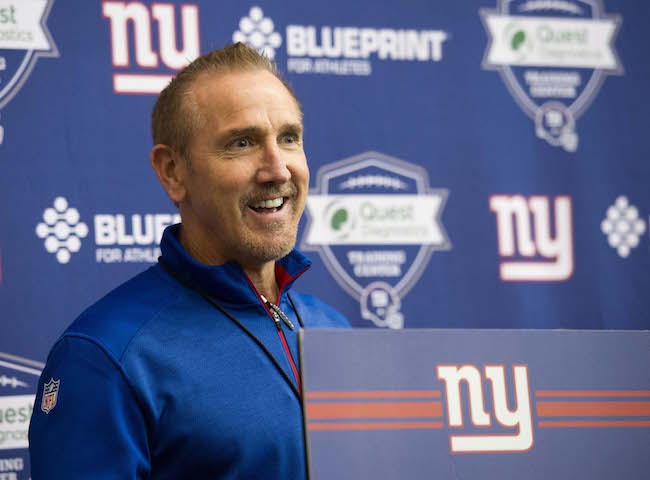 Steve Spagnuolo, New York Giants (May 6, 2016)