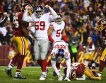 Game Review: New York Giants at Washington Redskins, January 1, 2017
