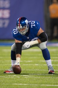 Weston Richburg, New York Giants (August 12 2016)