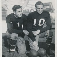 Benny Friedman (1) and Chris Cagle (10), New York Giants (1930)