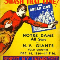 New York Giants - Notre Dame All-Stars (December 14, 1930)