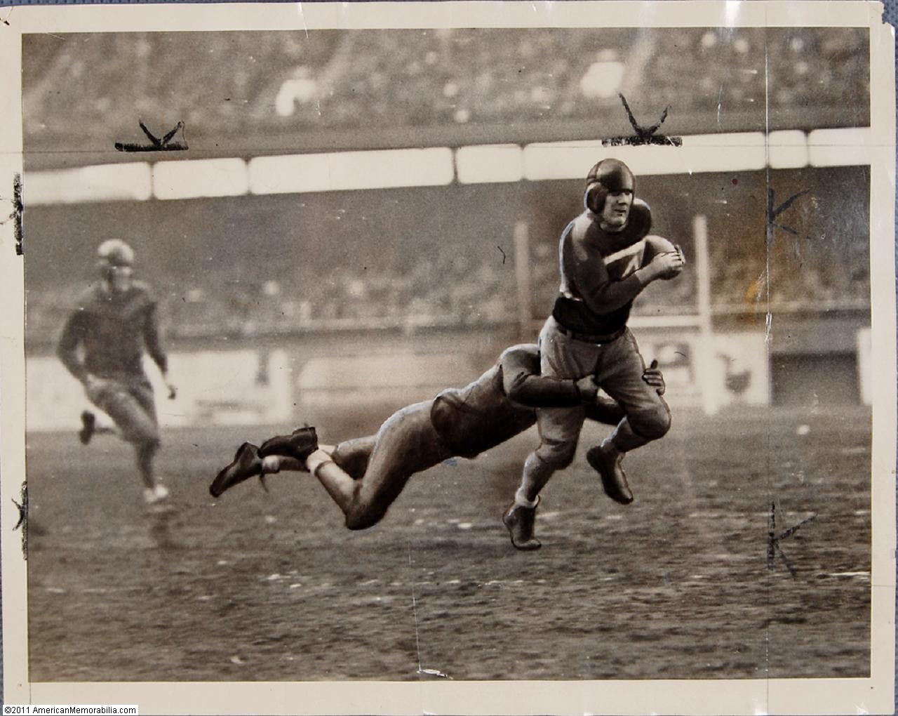 New York Football Giants at Brooklyn Football Dodgers (November 30, 1933)