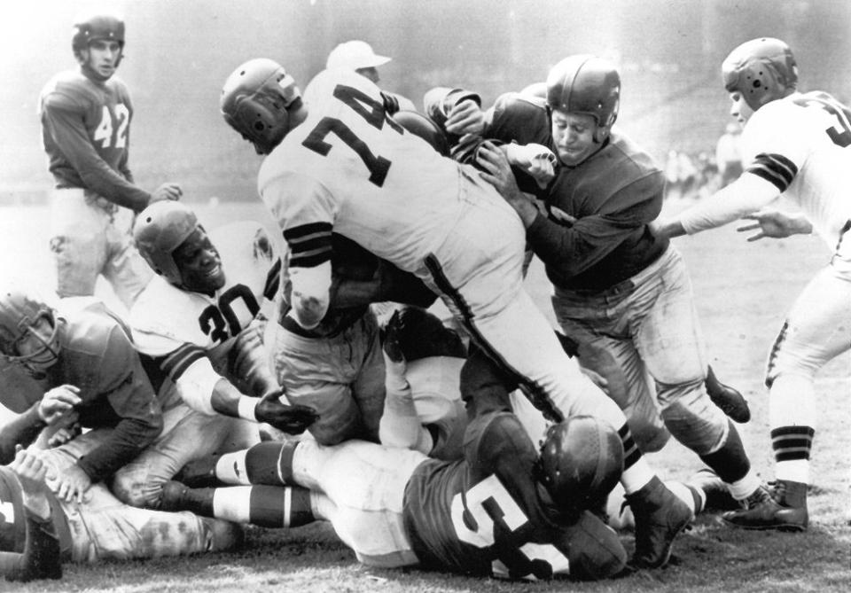 New York Giants at Cleveland Browns (October 1, 1950)