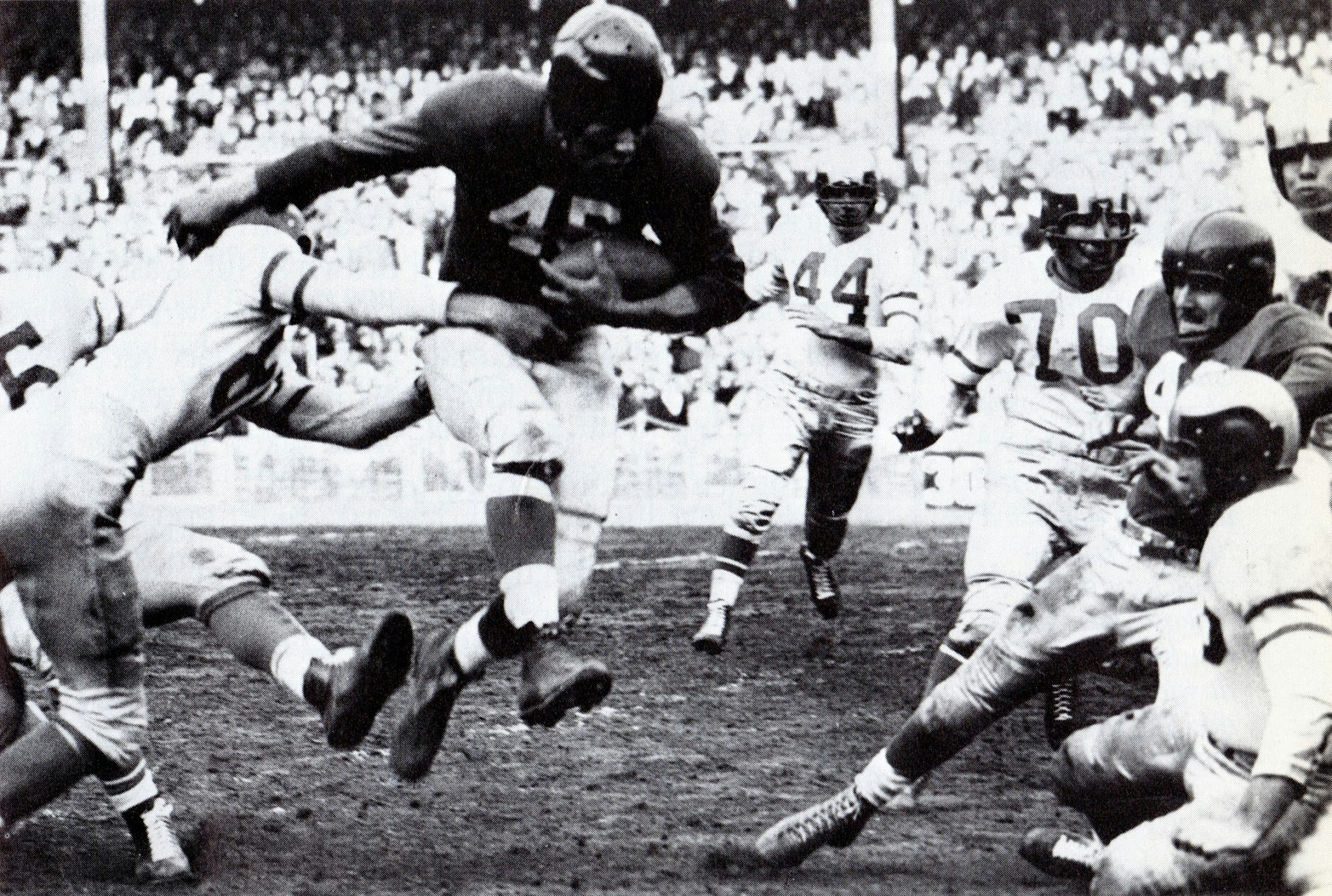 Philadelphia Eagles at New York Giants (November 26, 1950); Emlen Tunnell (45)
