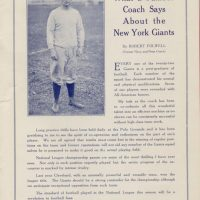 New York Giants vs. Frankford Yellow Jackets Game Program (October 18, 1925) - Page 4