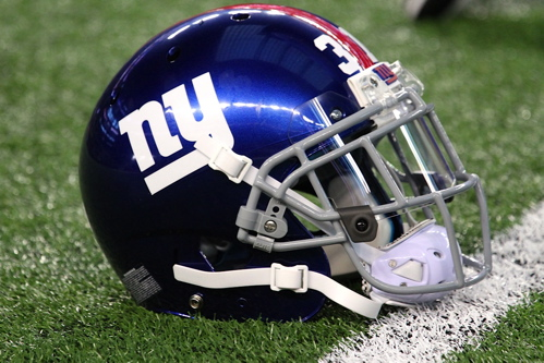 New York Giants Helmet (September 8, 2013)