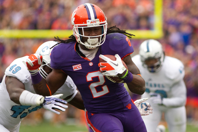 Sammy Watkins, Clemson Tigers (November 23, 2013)
