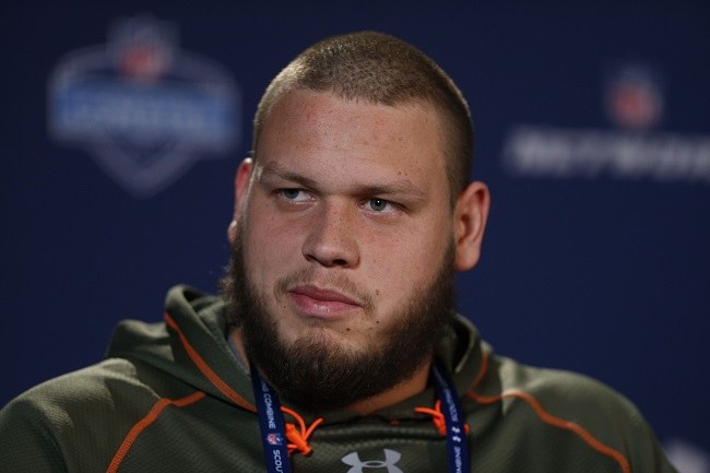 Joel Bitonio, Nevada Wolf Pack (February 20, 2014)