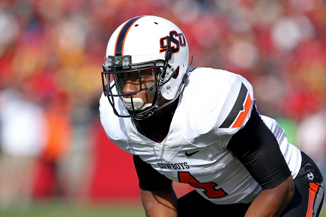 Justin Gilbert, Oklahoma State Cowboys (October 26, 2013)