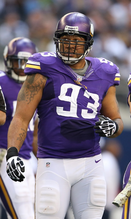 Kevin Williams, Minnesota Vikings (November 3, 2013)