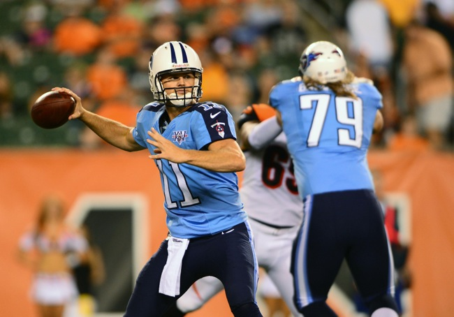Rusty Smith, Tennessee Titans (August 17, 2013)
