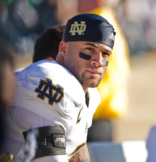 Bennett Jackson, Notre Dame Fighting Irish (October 26, 2013)