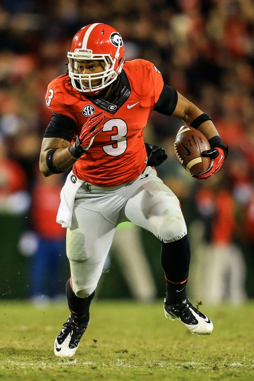 Todd Gurley, Georgia Bulldogs (November 23, 2013)