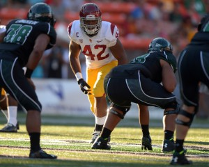 Devon Kennard, USC Trojans (August 29, 2013)