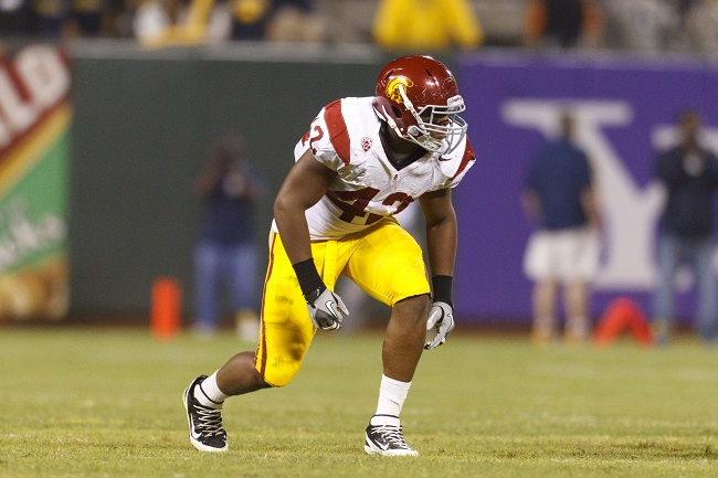 Devon Kennard, USC Trojans (October 13, 2011)