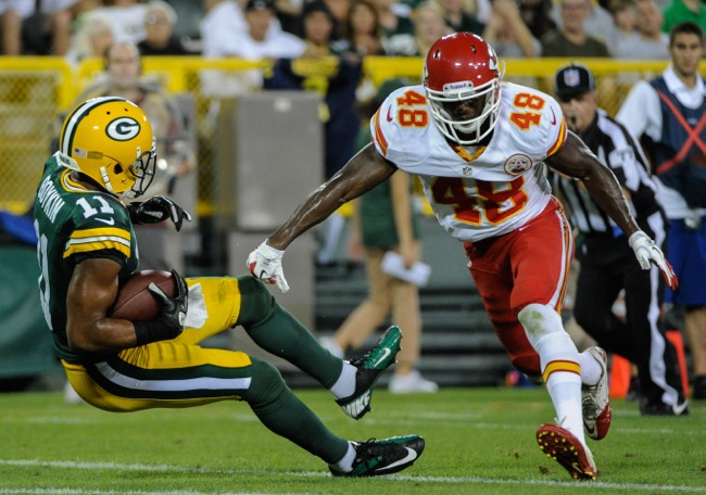 Chandler Fenner (48), Kansas City Chiefs (August 30, 2012)