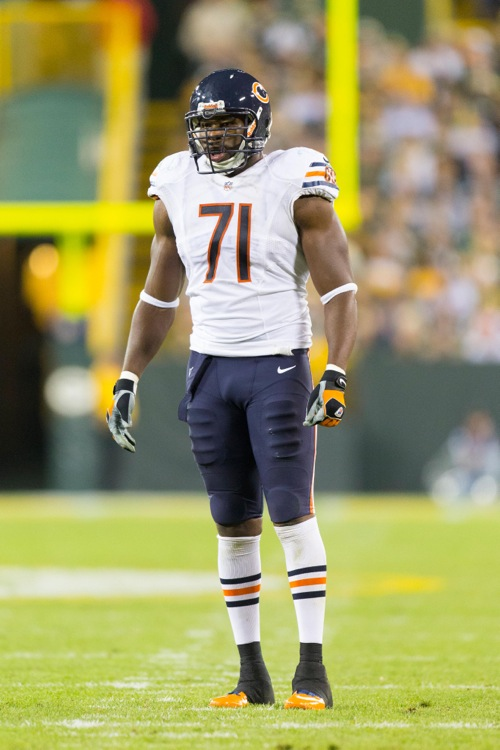 Israel Idonije, Chicago Bears (September 13, 2012)