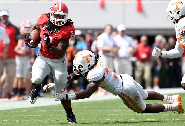 Todd Gurley, Georgia Bulldogs (September 27, 2014)