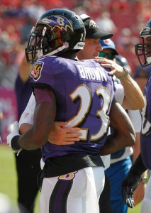 Chykie Brown, Baltimore Ravens (November 5, 2014)