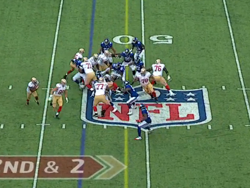 Kuhn, Kiwanuka, Herzlich, and Rolle all effectively taken out of the play