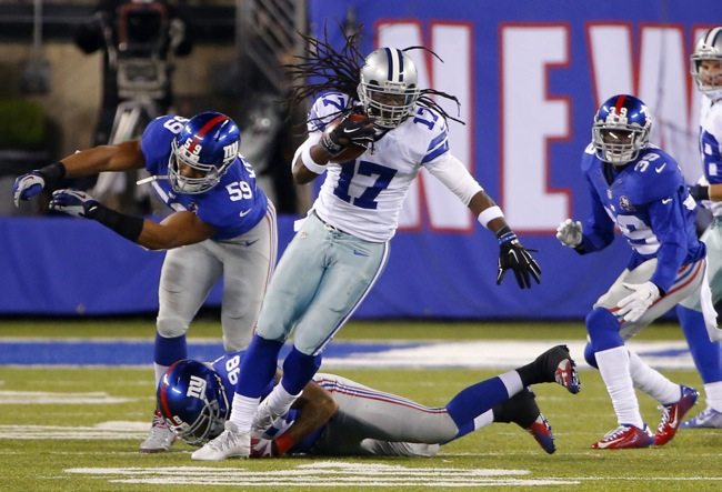 Dwayne Harris, Dallas Cowboys (November 23, 2014)