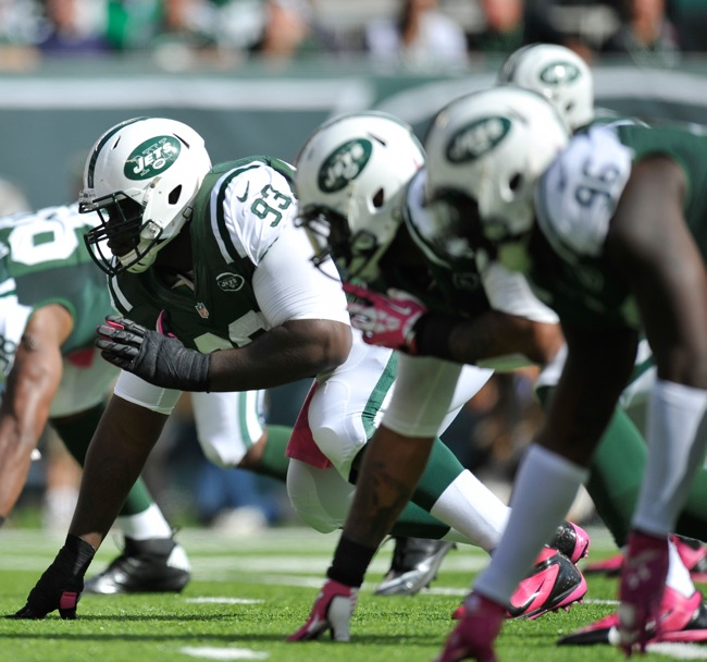 Kenrick Ellis, New York Jets (October 13, 2013)