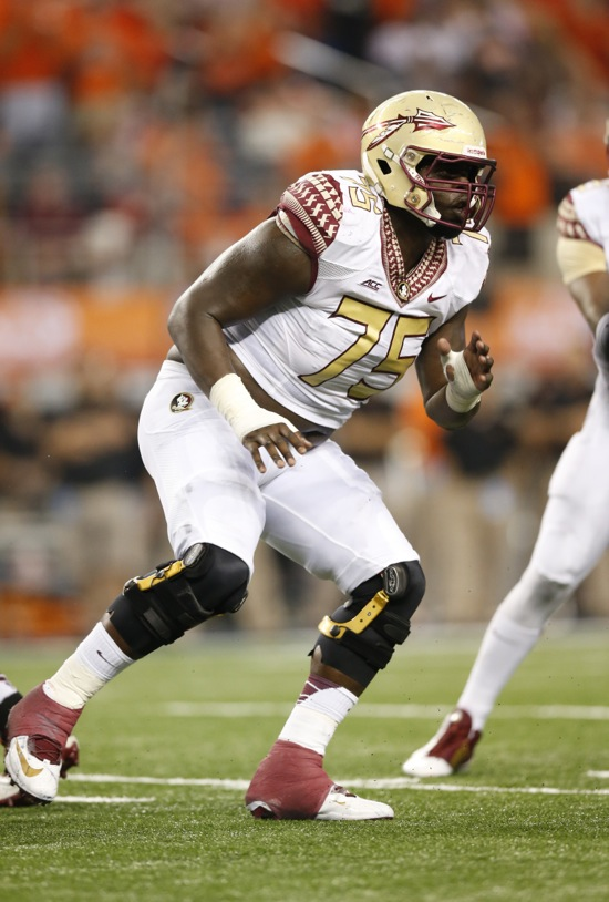 Cameron Erving, Florida State Seminoles (August 30, 2014)
