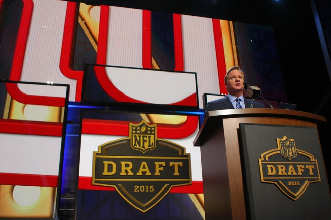 Roger Goodell, 2015 NFL Draft (April 30, 2015)