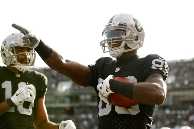 James Jones, Oakland Raiders (December 21, 2014)