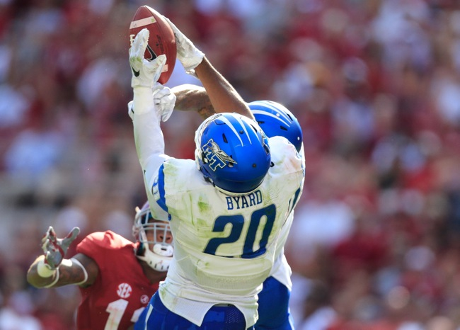Kevin Byard, Middle Tennessee Blue Raiders (September 12, 2015)