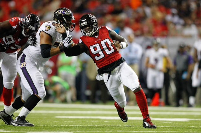 Stansly Maponga, Atlanta Falcons (September 3, 2015)