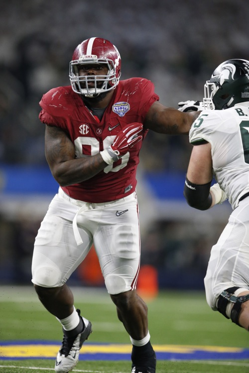 A'Shawn Robinson, Alabama Crimson Tide (December 31, 2015)
