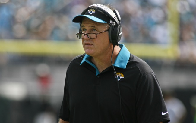 Doug Marrone, Jacksonville Jaguars (September 13, 2015)