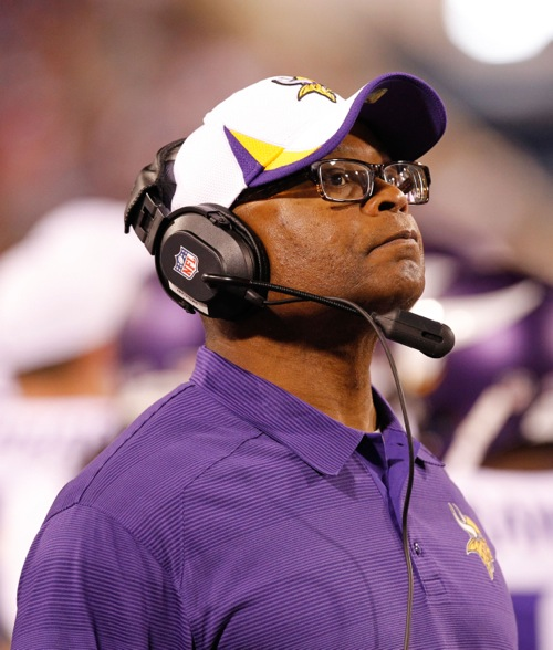 Mike Singletary, Minnesota Vikings (August 16, 2013)