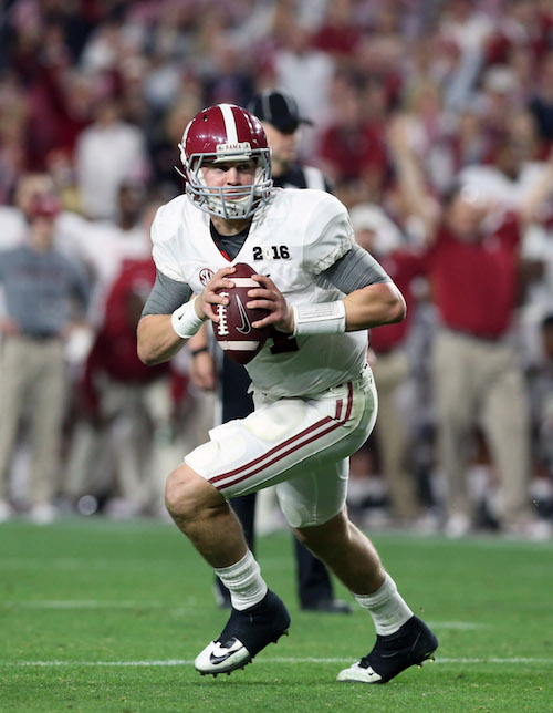 Jake Coker, Alabama Crimson Tide (January 11, 2016)
