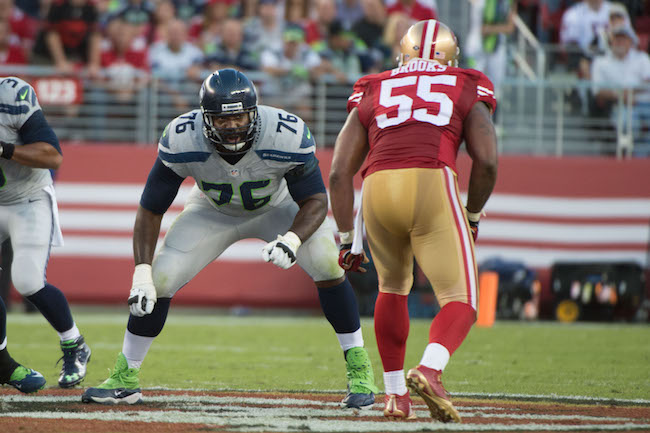 Russell Okung, Seattle Seahawks (October 22, 2015)