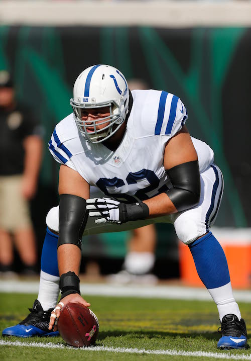 Khaled Holmes, Indianapolis Colts (December 13, 2015)