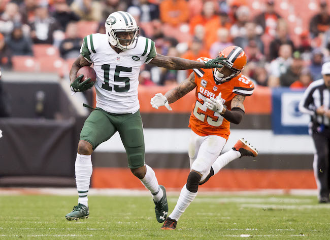 Brandon Marshall, New York Jets (October 30, 2016)