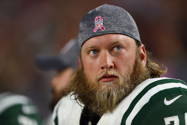 Nick Mangold, New York Jets (October 17, 2016)