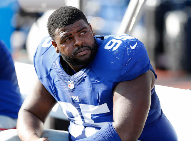 Johnathan Hankins, New York Giants (August 20, 2016)